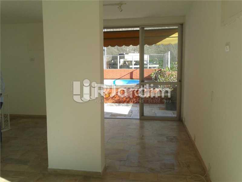 Salão / acesso a Piscina  - Compra Venda Avaliação Imóveis Cobertura Lagoa 3 Quartos - CO0177 - 12
