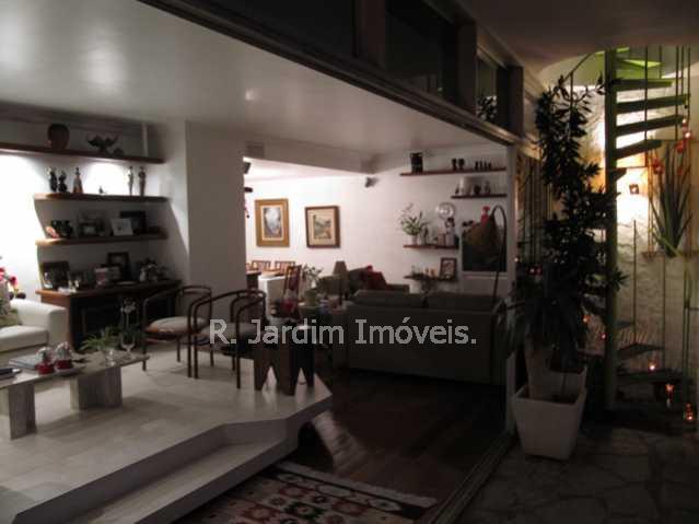 sala de estar - Aluguel Cobertura Jardim Botânico 4 Quartos - CO0290 - 3