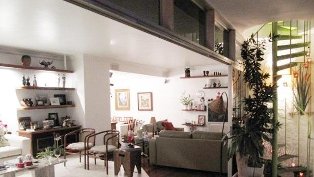 sala - Aluguel Cobertura Jardim Botânico 4 Quartos - CO0290 - 5