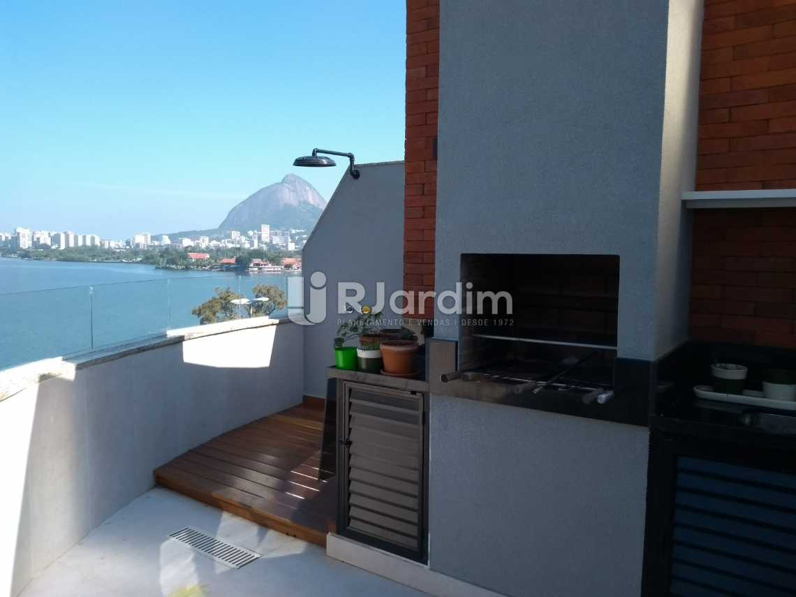 terraço  - Cobertura À VENDA, Lagoa, Rio de Janeiro, RJ - LACO20001 - 11