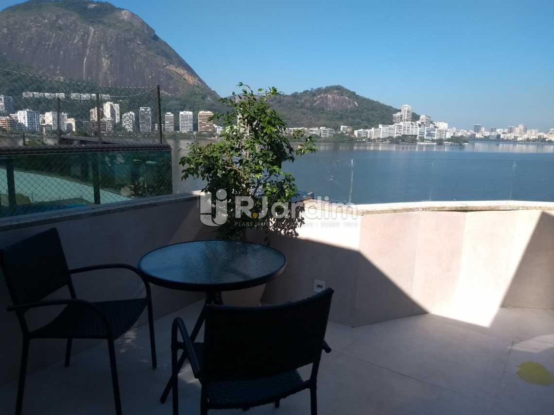 varanda/terraço - Cobertura À VENDA, Lagoa, Rio de Janeiro, RJ - LACO20001 - 9