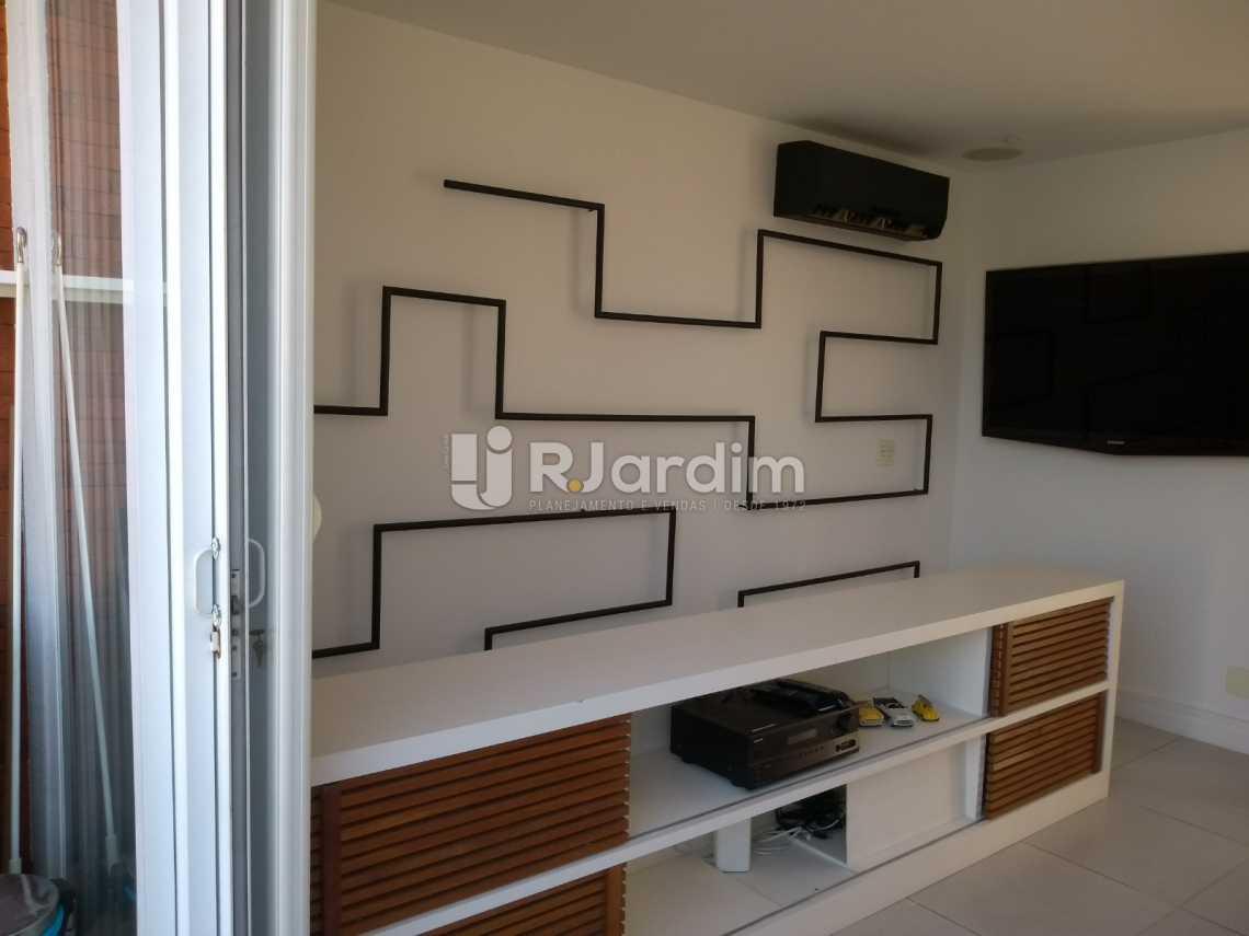 sala/segundo piso - Cobertura À VENDA, Lagoa, Rio de Janeiro, RJ - LACO20001 - 15
