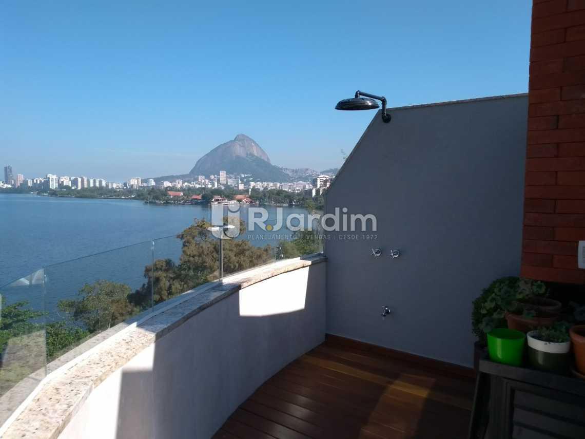 terraço  - Cobertura À VENDA, Lagoa, Rio de Janeiro, RJ - LACO20001 - 23