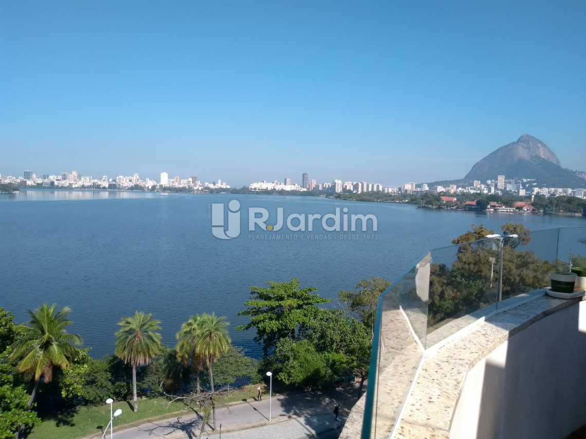 vista frontal terraço - Cobertura À VENDA, Lagoa, Rio de Janeiro, RJ - LACO20001 - 14