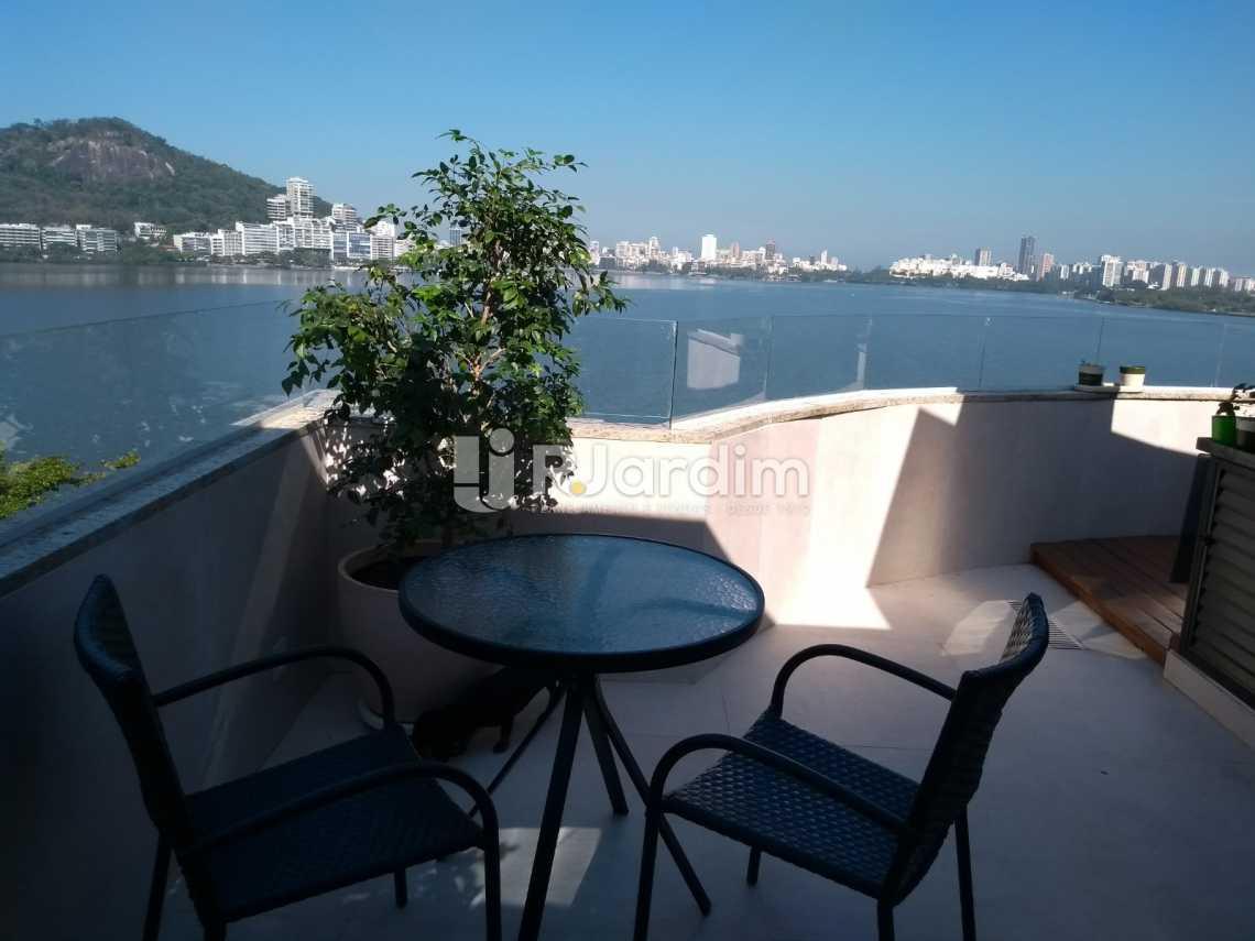 varanda / terraço - Cobertura À VENDA, Lagoa, Rio de Janeiro, RJ - LACO20001 - 24