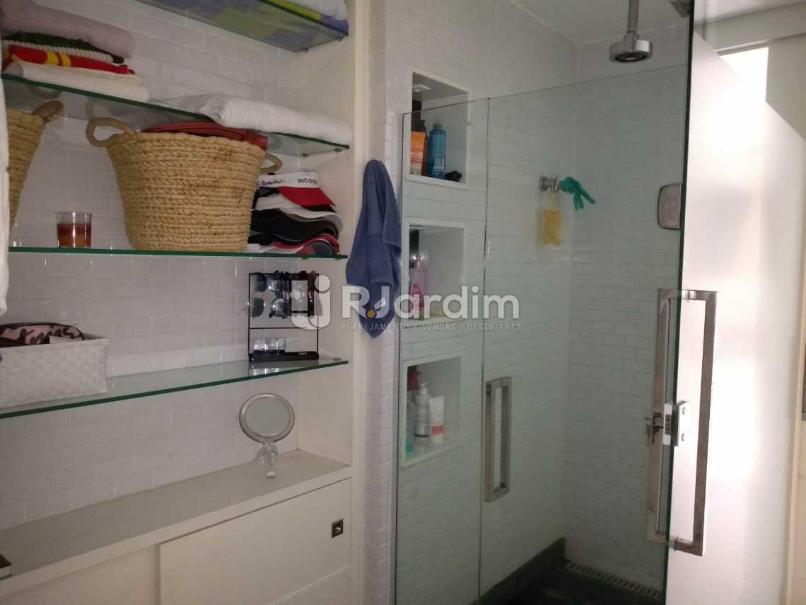banheiro suíte  - Cobertura À VENDA, Lagoa, Rio de Janeiro, RJ - LACO20001 - 17