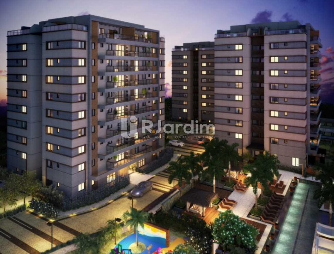 FACHADA NOTURNA - Damai Residences / Apartamento / Residencial / Recreio dos Bandeirantes / Zona oeste / Rio de Janeiro RJ - LAAP40115 - 5