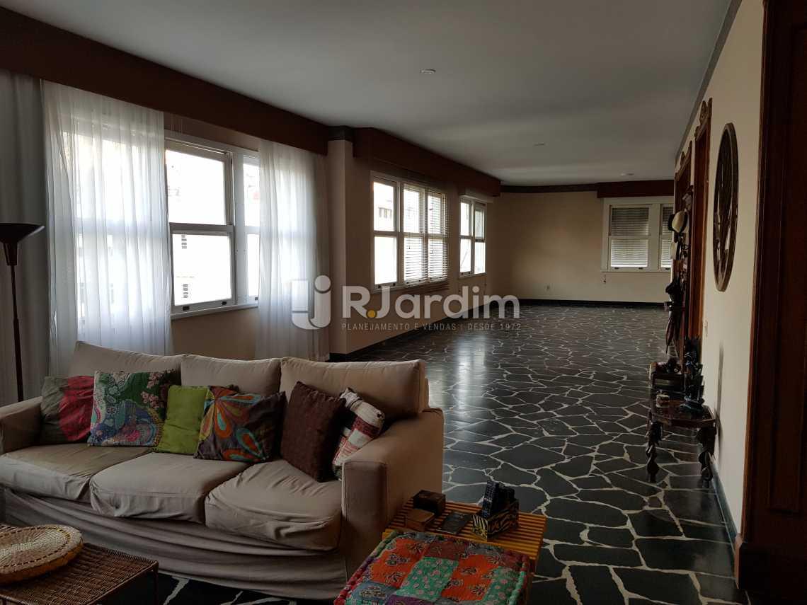 Sala de estar - Apartamento À VENDA, Copacabana, Rio de Janeiro, RJ - LAAP40044 - 5
