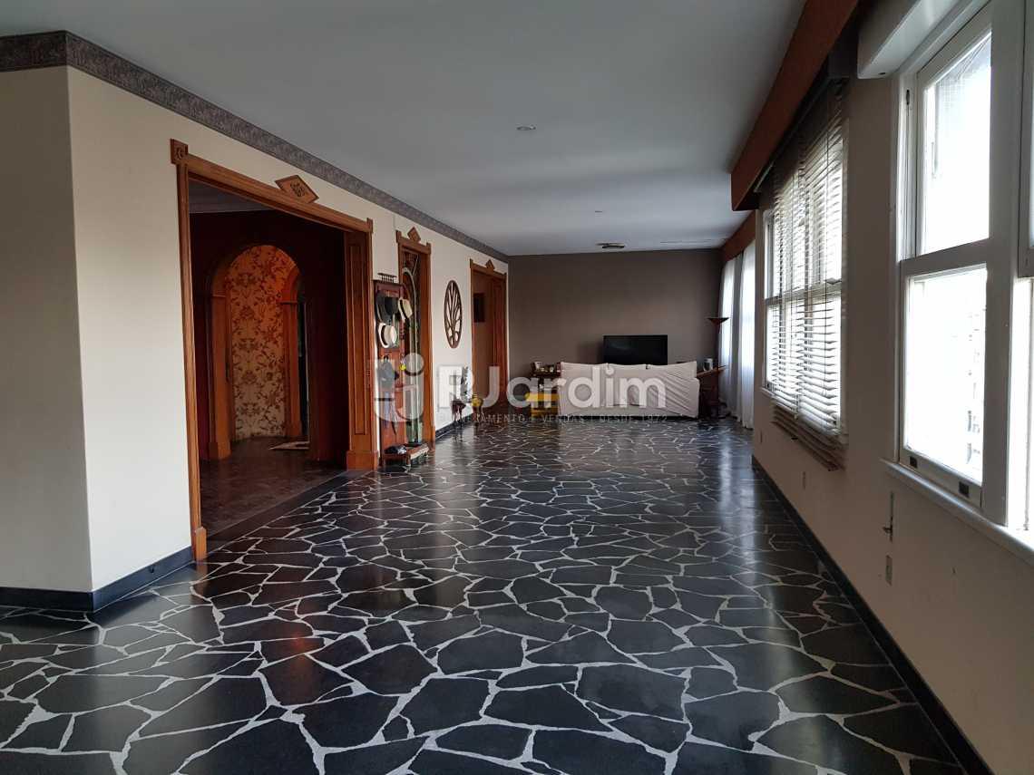 Sala de estar - Apartamento À VENDA, Copacabana, Rio de Janeiro, RJ - LAAP40044 - 6