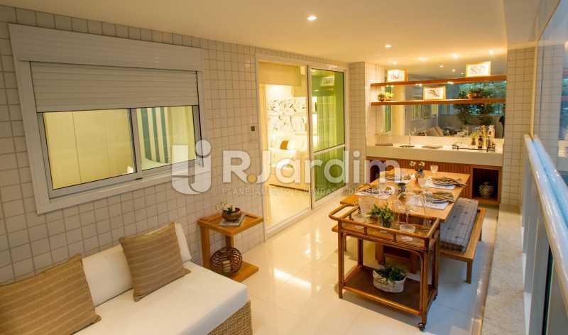 BARRA DA TIJUCA - Apartamento Barra da Tijuca, Zona Oeste - Barra e Adjacentes,Rio de Janeiro, RJ À Venda, 4 Quartos, 139m² - LAAP40807 - 1