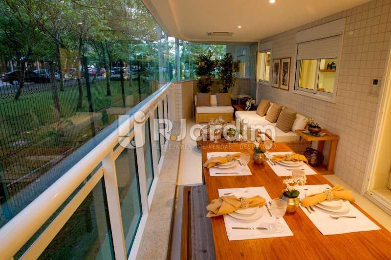 BARRA DA TIJUCA - Apartamento Barra da Tijuca, Zona Oeste - Barra e Adjacentes,Rio de Janeiro, RJ À Venda, 4 Quartos, 139m² - LAAP40807 - 4