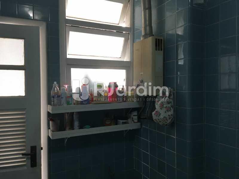 área de serviço - Apartamento À Venda - Gávea - Rio de Janeiro - RJ - LAAP30187 - 26