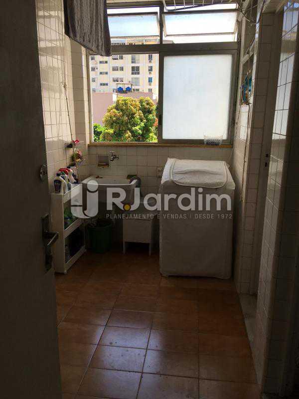 área de serviços gerais - Apartamento À Venda - Gávea - Rio de Janeiro - RJ - LAAP30187 - 27