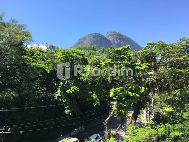 Vista da sala - Apartamento À Venda - Gávea - Rio de Janeiro - RJ - LAAP30187 - 1