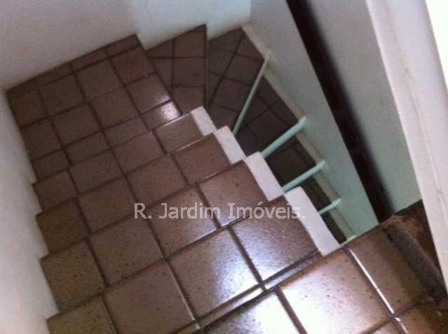 escada do 1º para o 2º andar - Casa Jardim Botânico, Zona Sul,Rio de Janeiro, RJ À Venda, 5 Quartos, 276m² - LACA50003 - 29