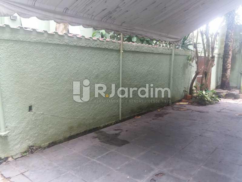 Muro frontal - Casa Jardim Botânico, Zona Sul,Rio de Janeiro, RJ À Venda, 5 Quartos, 276m² - LACA50003 - 23
