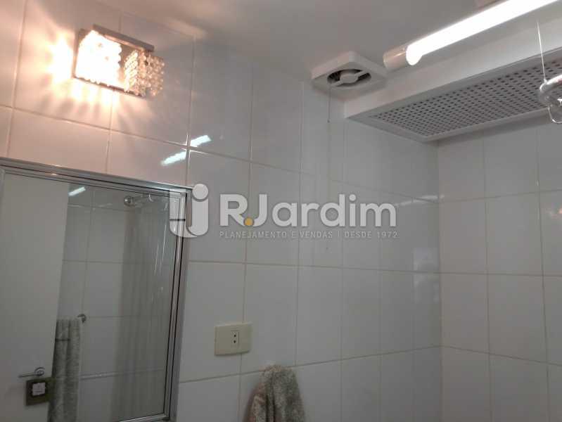 Banheiro social - Apartamento À Venda - Jardim Botânico - Rio de Janeiro - RJ - LAAP30207 - 11