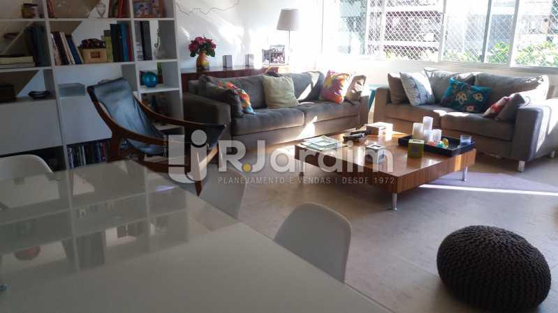Sala jantar - Cobertura À VENDA, Fonte da Saudade, Lagoa, Rio de Janeiro, RJ - LACO30034 - 3