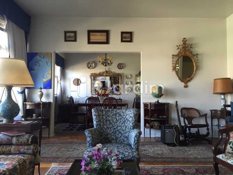 Sala - Apartamento À VENDA, Gávea, Rio de Janeiro, RJ - LAAP40187 - 1