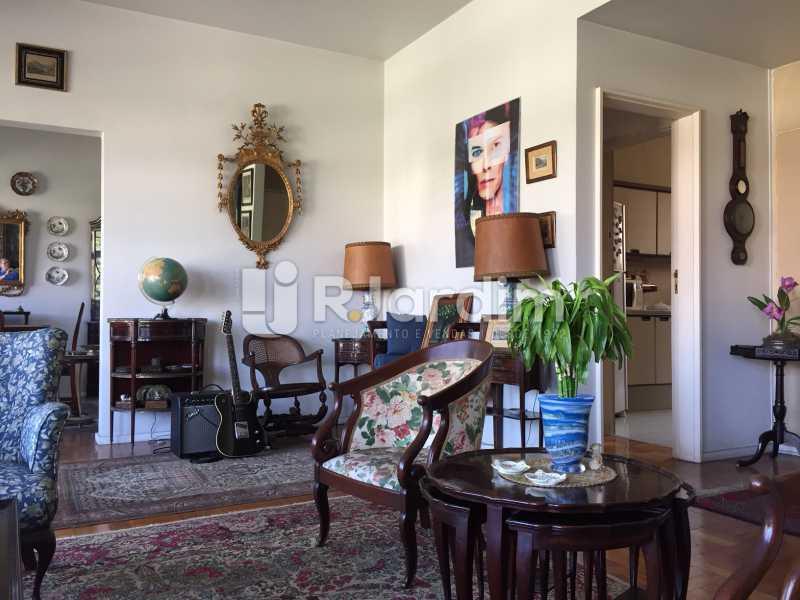Sala - Apartamento À VENDA, Gávea, Rio de Janeiro, RJ - LAAP40187 - 4