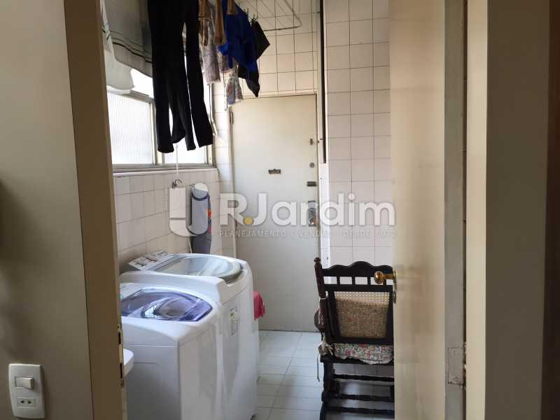 Área - Apartamento À VENDA, Gávea, Rio de Janeiro, RJ - LAAP40187 - 11