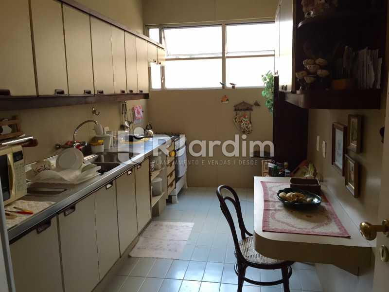 Cozinha - Apartamento À VENDA, Gávea, Rio de Janeiro, RJ - LAAP40187 - 10