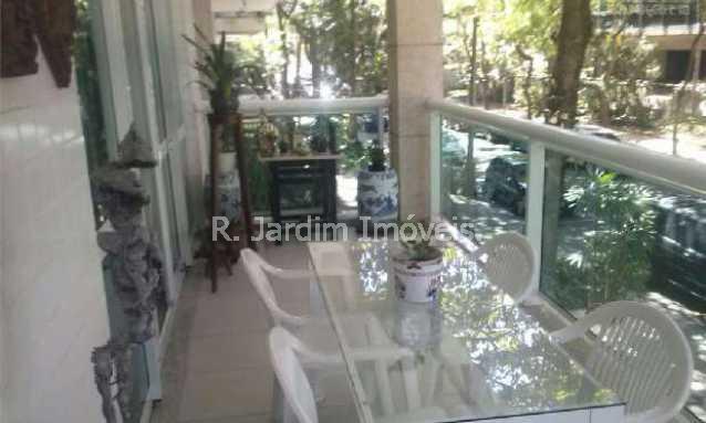 VARANDA - Apartamento à venda Rua Barão de Jaguaripe,Ipanema, Zona Sul,Rio de Janeiro - R$ 4.300.000 - LAAP30249 - 3