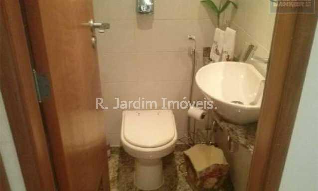 LAVABO - Apartamento à venda Rua Barão de Jaguaripe,Ipanema, Zona Sul,Rio de Janeiro - R$ 4.300.000 - LAAP30249 - 6