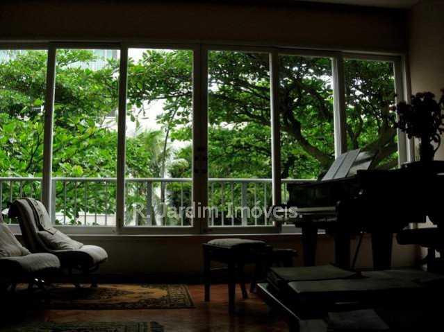 Living e visão da janela - Quadra da praia. - LAAP31724 - 1