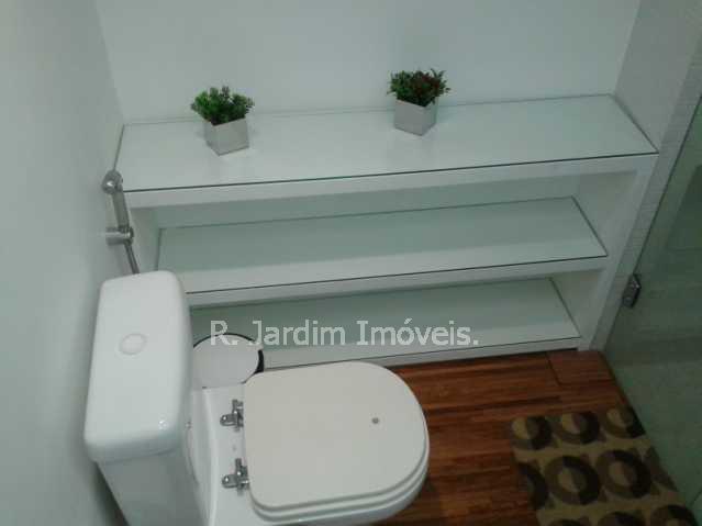 Banheiro - Flat 1 quarto à venda Lagoa, Zona Sul,Rio de Janeiro - R$ 1.200.000 - LAFL10008 - 16