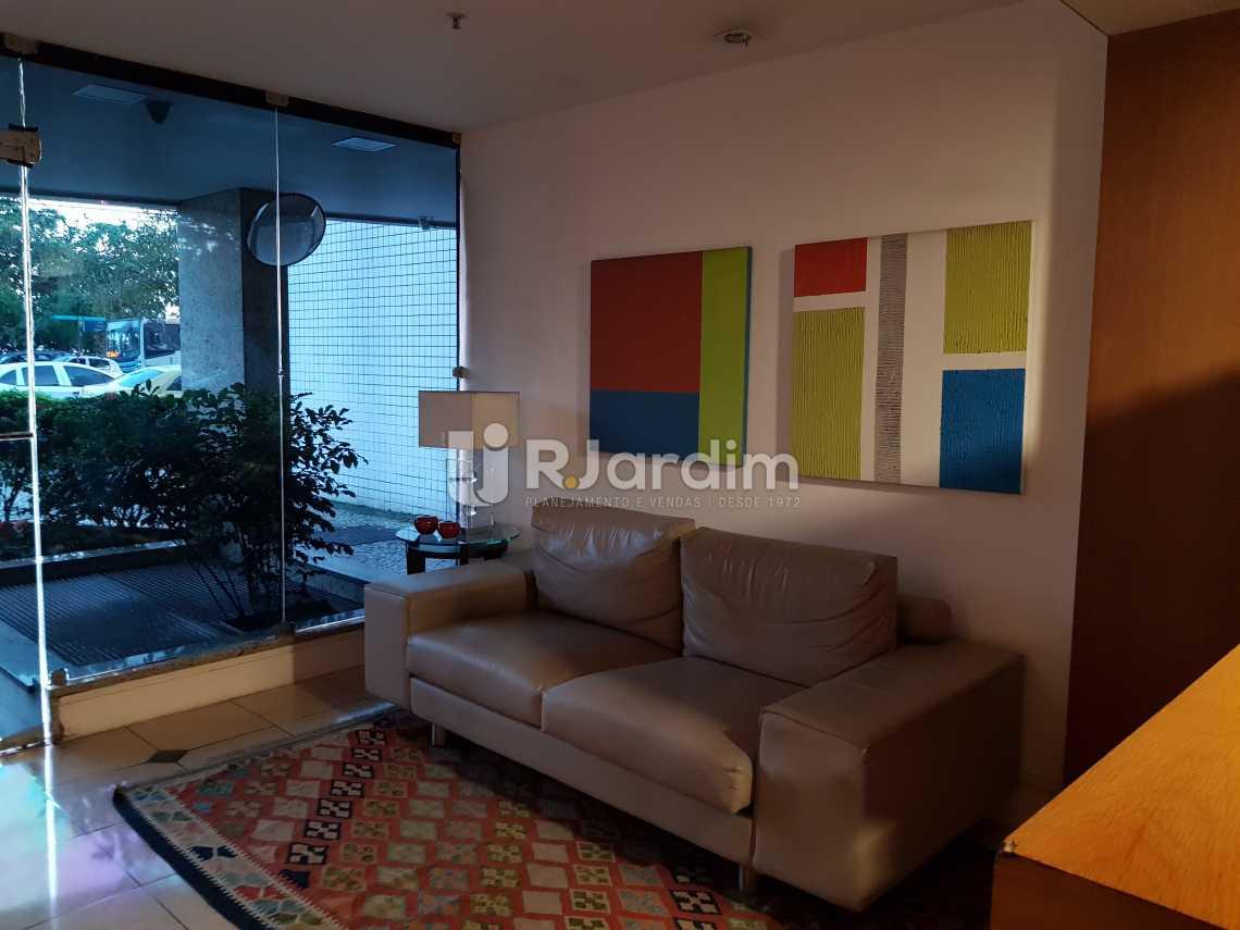 Portaria - Flat 1 quarto à venda Lagoa, Zona Sul,Rio de Janeiro - R$ 1.200.000 - LAFL10008 - 25