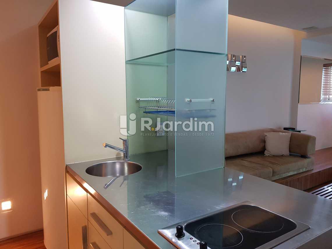 Cozinha - Flat 1 quarto à venda Lagoa, Zona Sul,Rio de Janeiro - R$ 1.200.000 - LAFL10008 - 9
