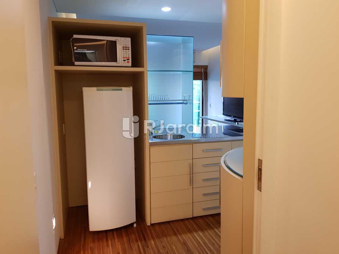 Cozinha - Flat 1 quarto à venda Lagoa, Zona Sul,Rio de Janeiro - R$ 1.200.000 - LAFL10008 - 10