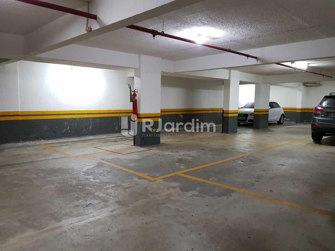 Garagem - Flat 1 quarto à venda Lagoa, Zona Sul,Rio de Janeiro - R$ 1.200.000 - LAFL10008 - 24