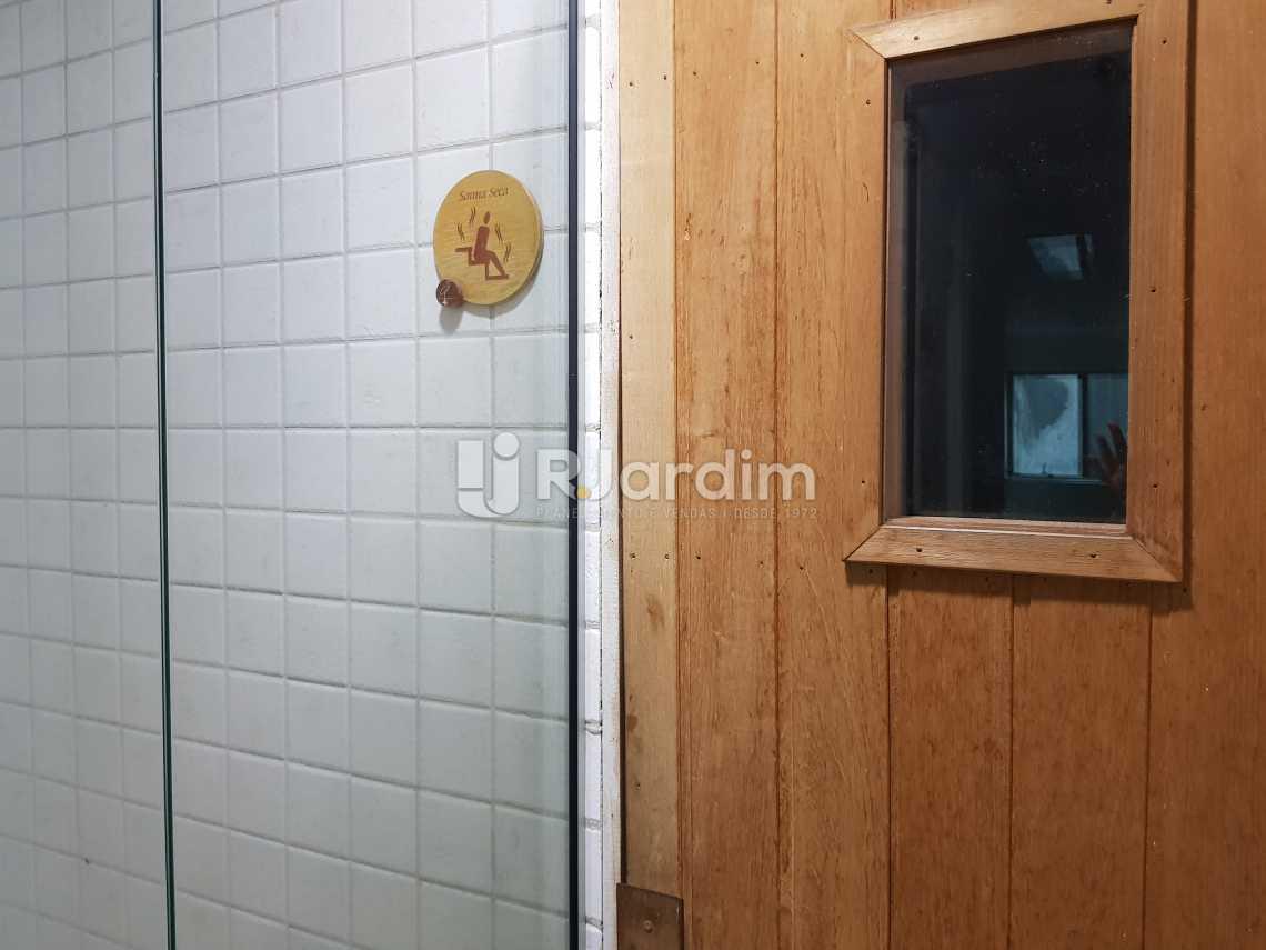 Sauna - Flat 1 quarto à venda Lagoa, Zona Sul,Rio de Janeiro - R$ 1.200.000 - LAFL10008 - 20