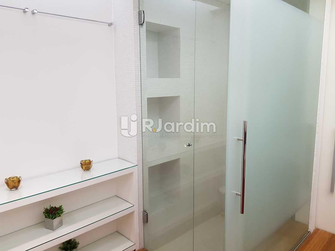 banheiro 2 - Flat 1 quarto à venda Lagoa, Zona Sul,Rio de Janeiro - R$ 1.200.000 - LAFL10008 - 15