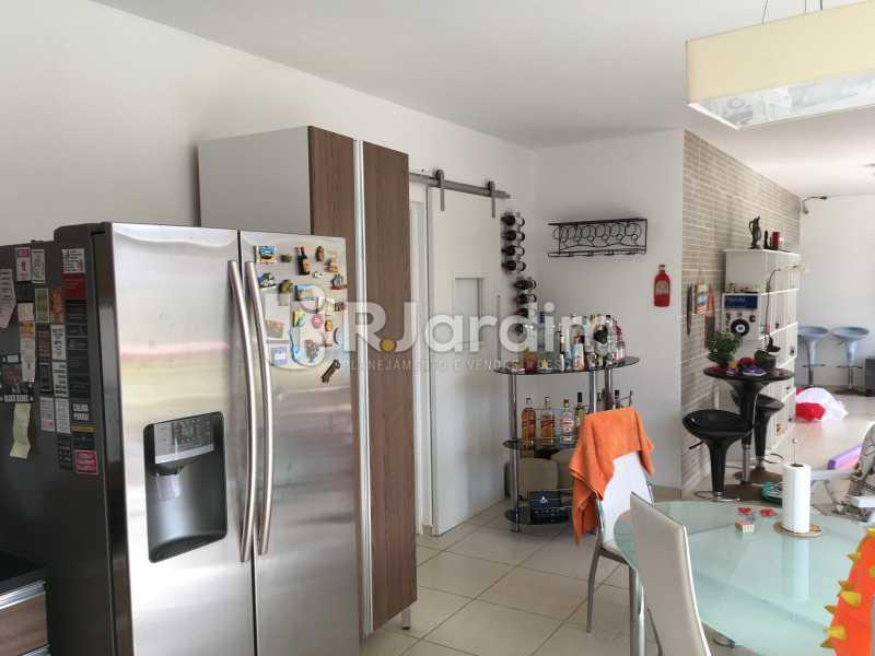 Cozinha/área gourmet - Cobertura À Venda - Leblon - Rio de Janeiro - RJ - LACO30038 - 12