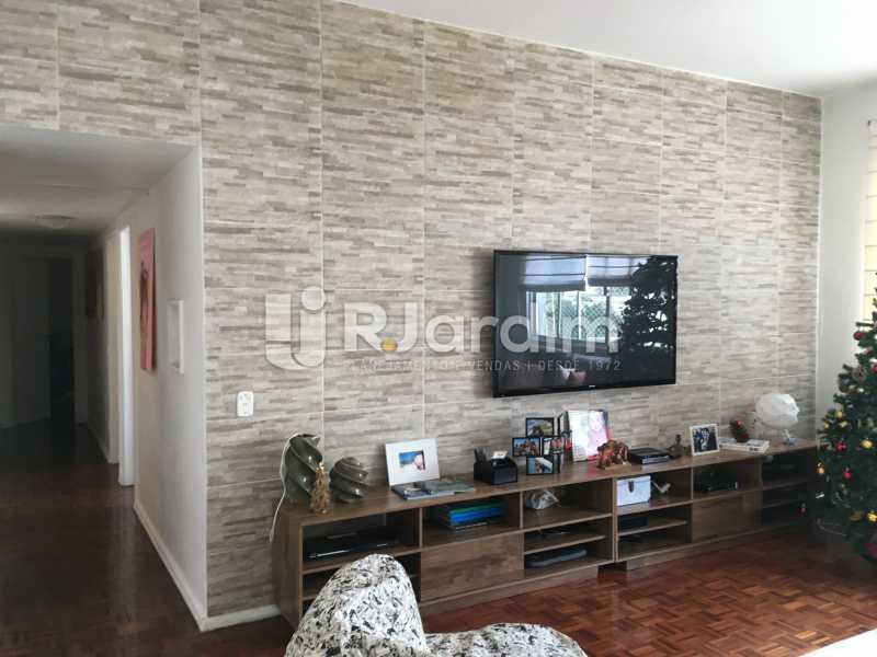 sala de estar - Cobertura À Venda - Leblon - Rio de Janeiro - RJ - LACO30038 - 6