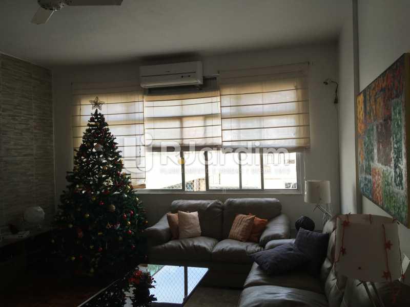 sala de estar - Cobertura À Venda - Leblon - Rio de Janeiro - RJ - LACO30038 - 8