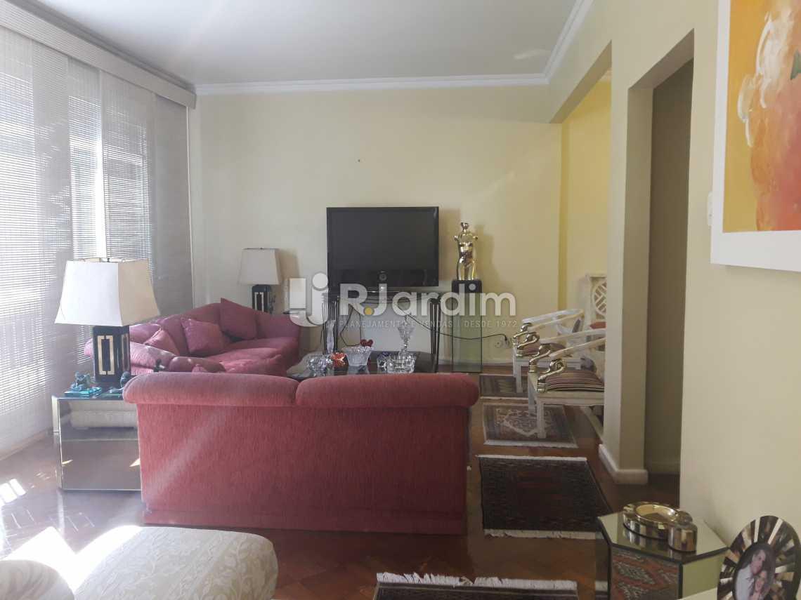 Sala de estar - Apartamento À VENDA, Ipanema, Rio de Janeiro, RJ - LAAP40132 - 1
