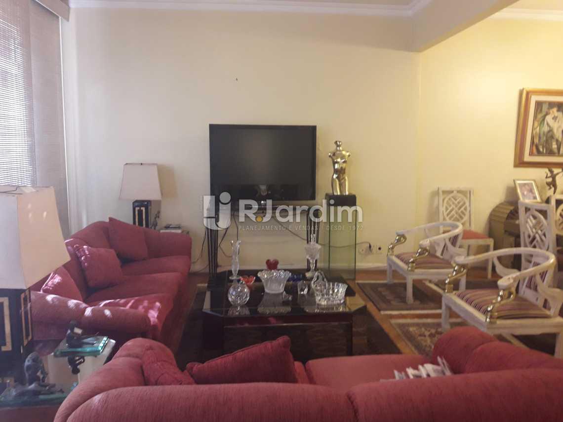 Sala de estar - Apartamento 4 quartos à venda Ipanema, Zona Sul,Rio de Janeiro - R$ 3.500.000 - LAAP40132 - 3