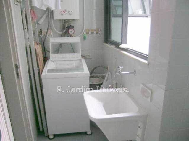 área de serviço - Apartamento À Venda - Leblon - Rio de Janeiro - RJ - LAAP30303 - 25