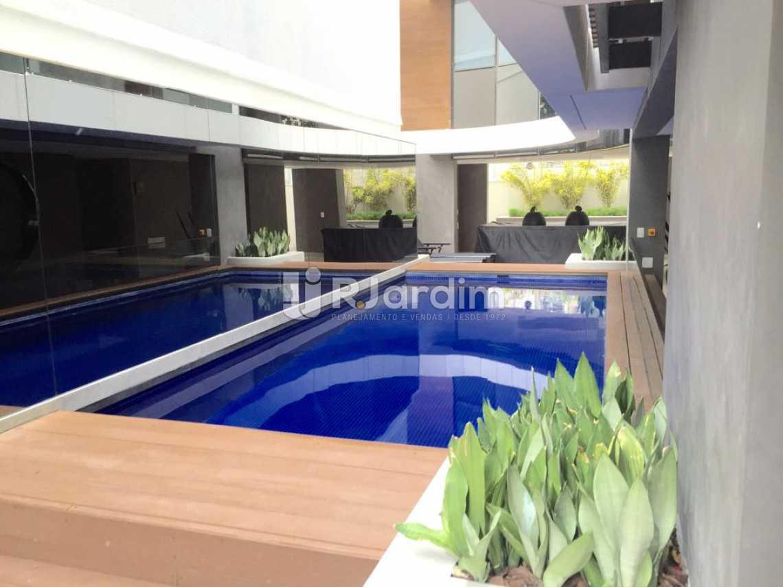 Piscina térmica - Compra Venda Avaliação Imóveis Apartamento Ipanema 4 Suítes - LAAP40153 - 25