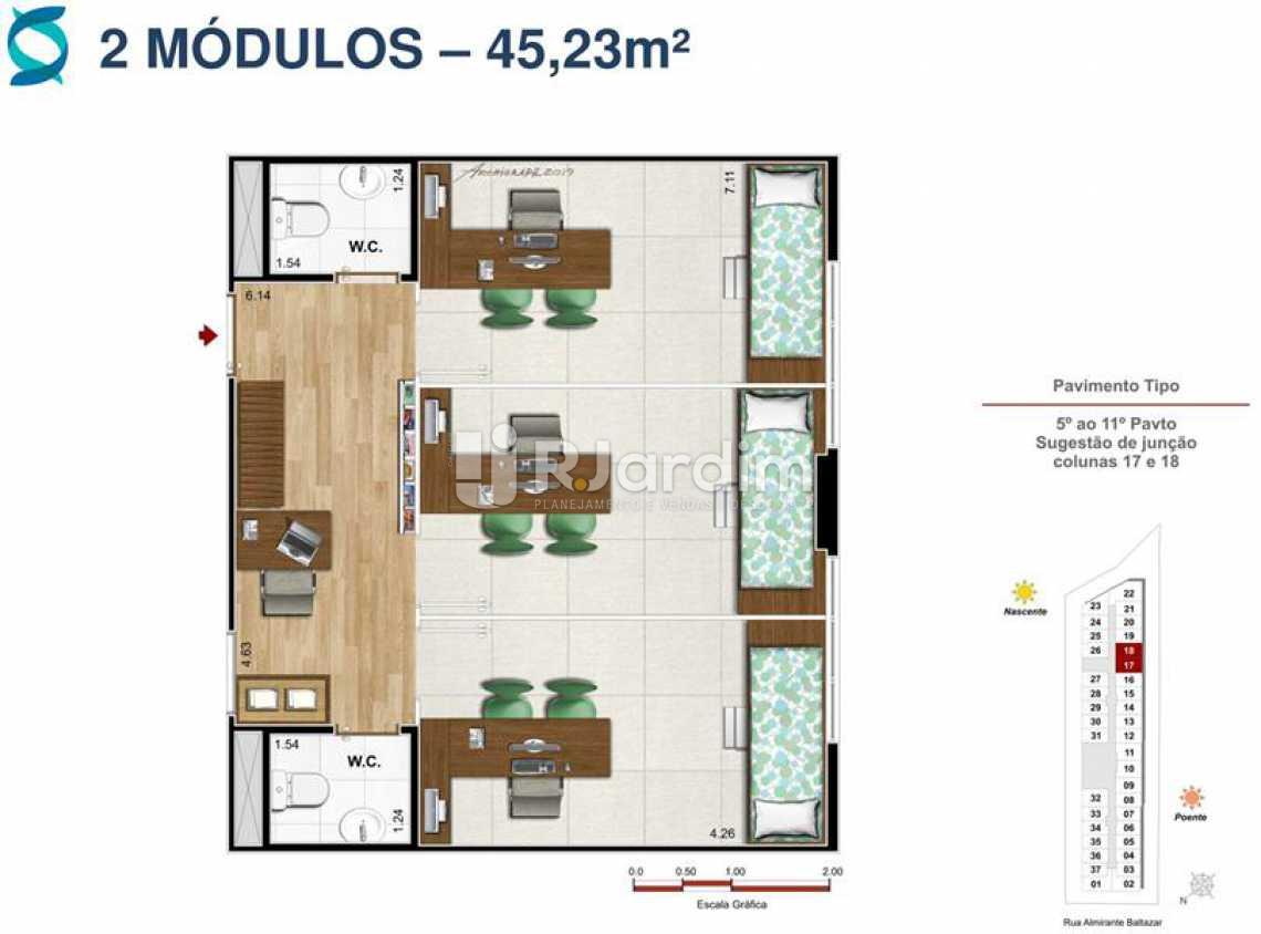 PLANTA 4 - Lançamento Quinta Park Imóveis Compra e Venda Imóveis Comerciais Zona Norte Salas E Andares - LASL00037 - 11