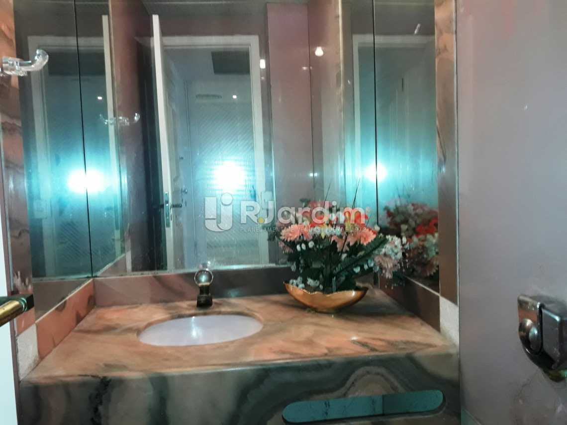 Lavabo - Compra Venda Avaliação Imóveis Apartamento Leblon 3 Quartos - LAAP31192 - 7