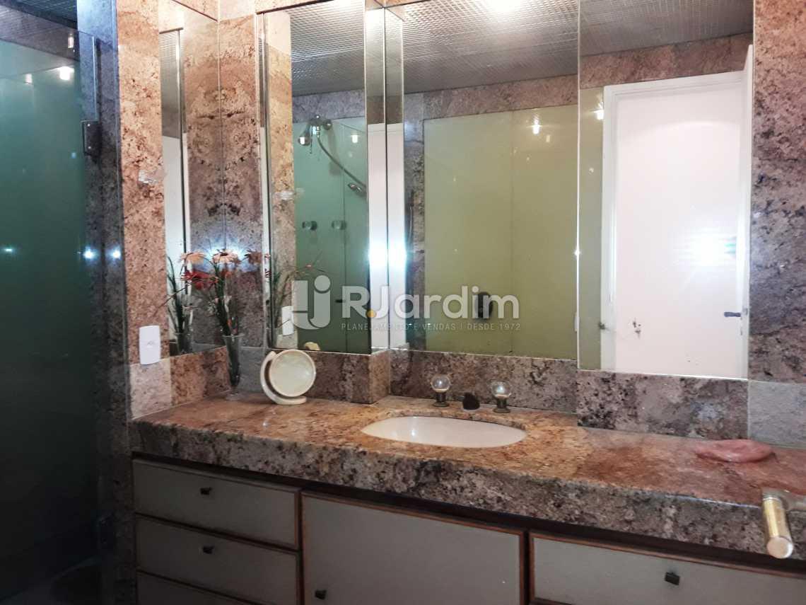 Banheiro - Compra Venda Avaliação Imóveis Apartamento Leblon 3 Quartos - LAAP31192 - 11