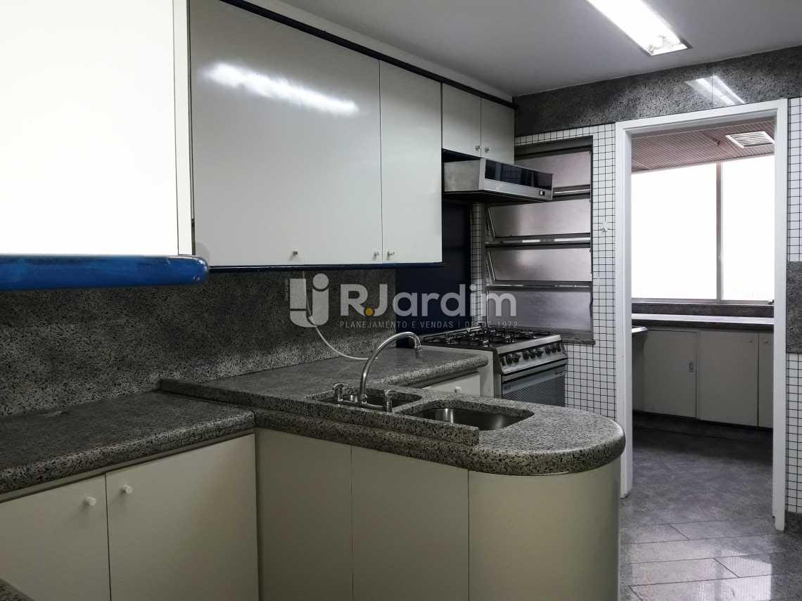 Cozinha - Compra Venda Avaliação Imóveis Apartamento Leblon 3 Quartos - LAAP31192 - 18