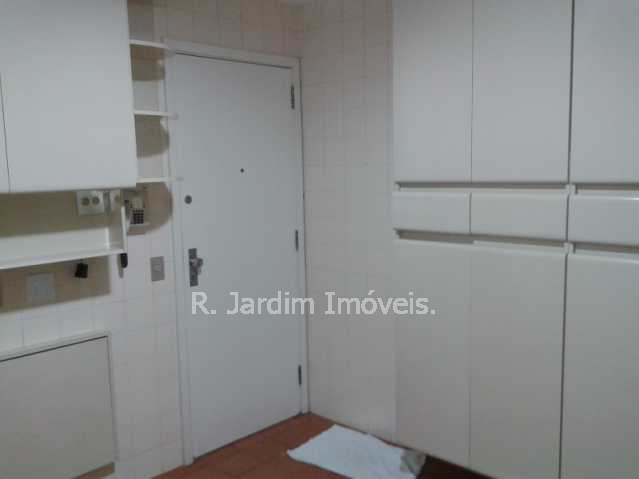 Cozinha - Apartamento Lagoa 3 Quartos Aluguel Administração Imóveis - LAAP30353 - 17