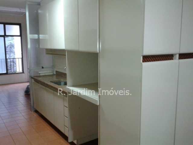 Cozinha - Apartamento Lagoa 3 Quartos Aluguel Administração Imóveis - LAAP30353 - 19