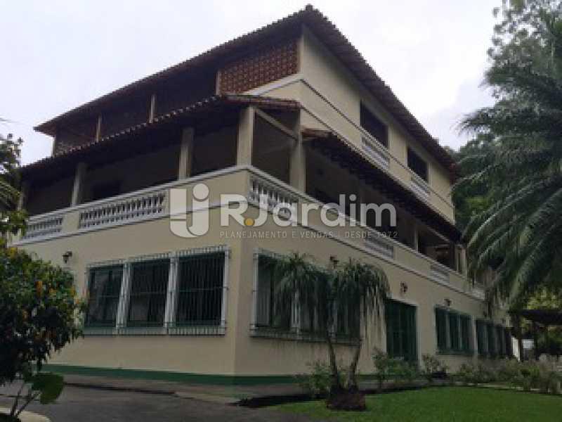 Fachada  - Casa À VENDA, Cosme Velho, Rio de Janeiro, RJ - LACA90003 - 1